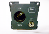 CBE 12V  AUTO AND TV AERIAL SOCKET